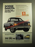 1987 Dodge Dakota Truck Ad - Mid-Sized Pickup Ever Made