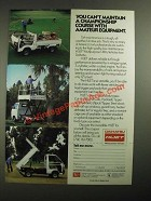 1987 Daihatsu HiJet Multipurpose Utility Vehicles Ad