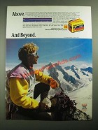1987 Kodak VR-G 200 Film Ad - Above. And Beyond.