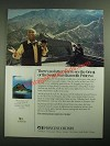 1987 Princess Cruises Ad - Gavin MacLeod - See the Orient
