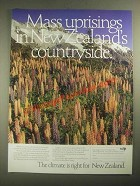 1987 New Zealand Ad - Mass Uprisings in Countryside