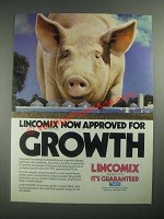 1987 Upjohn Tuco Lincomix Feed Medication Ad - For Growth