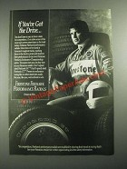 1987 Firestone Firehawk Tires Ad - If You've Got The Drive