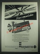 1987 W.H. Smith Compact Discs Ad