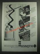 1987 W.H. Smith School Supplies Ad