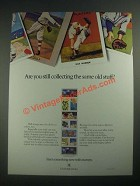 1987 U.S. Postal Service Ad - Still Collecting The Same Old Stuff? - Cards
