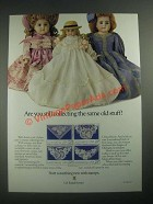 1987 U.S. Postal Service Ad - Still Collecting The Same Old Stuff? - Dolls