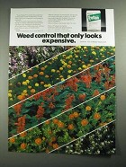1987 Elanco Treflan Ad - Weed Control That Only Looks Expensive