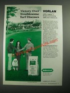1987 Mallinckrodt Vorlan Ad - Victory Over Troublesome Turf Dieseases