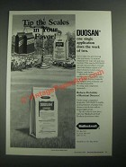 1987 Mallinckrodt Duosan Ad - Tip The Scales In Your Favor