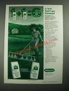1987 Mallinckrodt Vorlan and Fungo Ad - A New Turf Care Formula