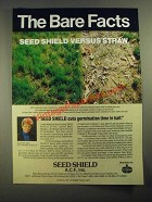 1987 Amoco Seed Shield Ad - The Bare Facts