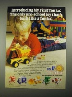 1987 My First Tonka Ad - Dump Truck, Fire Engine, Ice Cream Truck, Shovel, Train