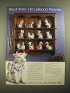 1987 The Franklin Mint Ad - Country Friends Animal Pitchers by Hallie Greer