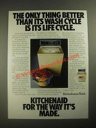 1987 KitchenAid Washer Ad - Its Life Cycle