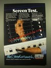 1987 GM Mr. Goodwrench Service Ad - Screen Test