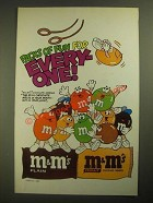 1987 M&M's Candies Ad - Packs of Fun for Everyone - Gymnastics