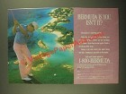 1987 Bermuda Tourism Ad - Bermuda Is You Isn't It?