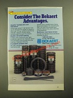 1987 Bekaert Gaucho Barbed Wire and Field Fence Ad - The Advantages