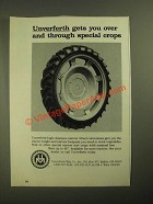 1987 Unverferth High-Clearance Narrow Wheel Conversions Ad