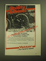 1987 Yetter Heavy Duty Conservation Coulters Ad