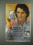 1987 Renuzit RoomMate Air Freshener Ad - Our Relationship