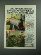 1987 Econo Lodge Ad - The Only Real Difference Between