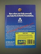 1987 Advil Medicine Ad - When You Help Yourself