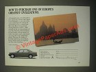 1987 Mercedes-Benz Cars Ad - Purchase One of Europe's Greatest Civilizations
