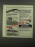 1987 Mantis Trail Blazer Sickle Bar Mower Ad - No More Overgrown Weeds
