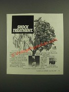 1987 Wilt-Pruf Plant Protector Ad - Shock Treatment