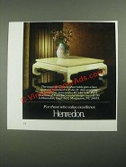 1987 Henredon Imprerial Chinese Chow Table Ad
