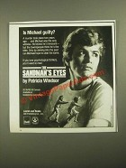 1987 Dell Publishing Laurel-Leef Books Ad - The Sandman's Eyes Patricia Windsor