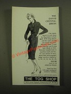 1987 The Tog Shop Ad - David Crystal Dress by Haymaker