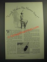 1928 Hoover Vacuum Cleaner Ad - I Wish I'd Seen the Hoover First