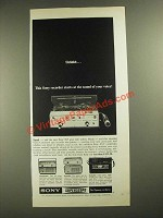 1965 Sony Superscope 905 Recorder Ad - Shhhhh