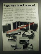 1972 Zenith Ad - D742W Stereo, D680W 8-Track Player, D9026W Turntable