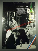 1973 Noilly Dry French Vermouth Ad