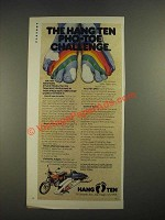 1978 Hang Ten Fashion Ad - Pro-Toe Challenge