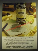 1978 Noilly Prat French Extra Dry Vermouth Ad