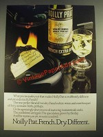 1978 Noilly Prat French Extra Dry Vermouth Ad - Dry Different