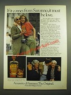 1980 Amaretto di Saronno Ad - It Must be Love