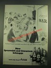 1980 Arrow Spearmint and Cinnamon Schnapps Ad - I Think I Heard