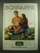 1980 Arrow Schnapps Ad - The Flavor of America