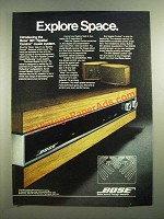 1980 Bose 901 / Spatial Control Music System Ad - Explore Space