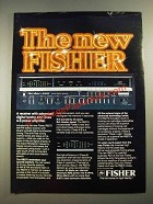 1980 Fisher RS270 Receiver Ad - The New Fisher