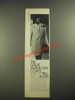 1980 Bill Blass Latham Coat Ad - The Great American Coats