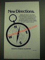 1980 Manufacturers Hanover Ad - New Directions