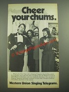 1981 Western Union Singing Telegrams Ad - Cheer Your Chums