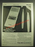 1982 Philips 660 Pocket Memo Ad - Goes Anywhere You Go